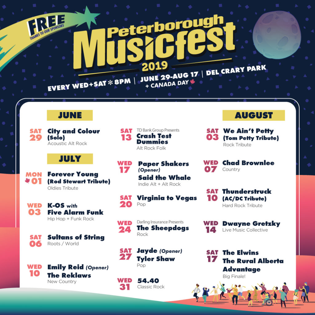 Musicfest Line-up poster